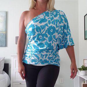 3/$30 Unique one shoulder top